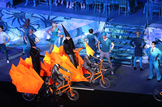 One of my favourites - the Pet Shop Boys playing at the London 2012 Olympics Closing Ceremony