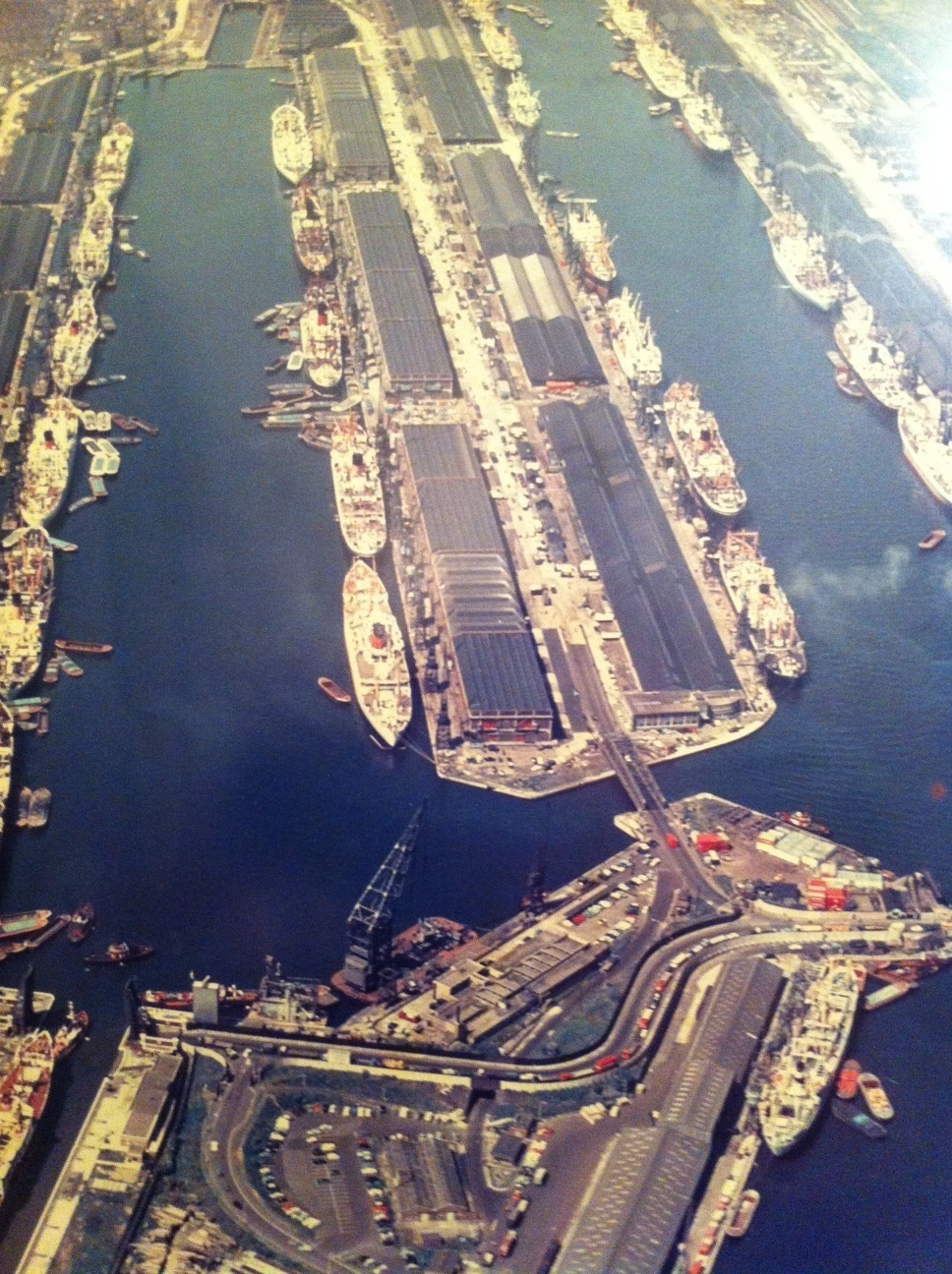 Royal Docks in their heyday 60s 70s