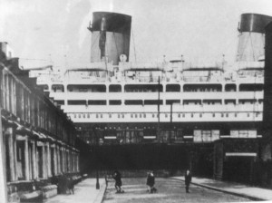 Ship at the end of street copy