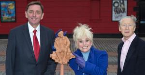 Joan Littlewood sculpture